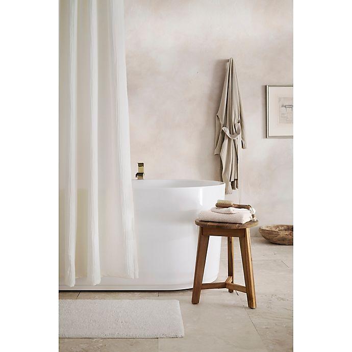 Alternate image 1 for Haven™ Double Gauze Organic Cotton Shower Curtain