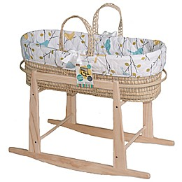 Jolly Jumper® Baby Birdies Quilted Moses Basket