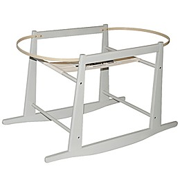 Jolly Jumper® Rocking Moses Basket Stand in Grey