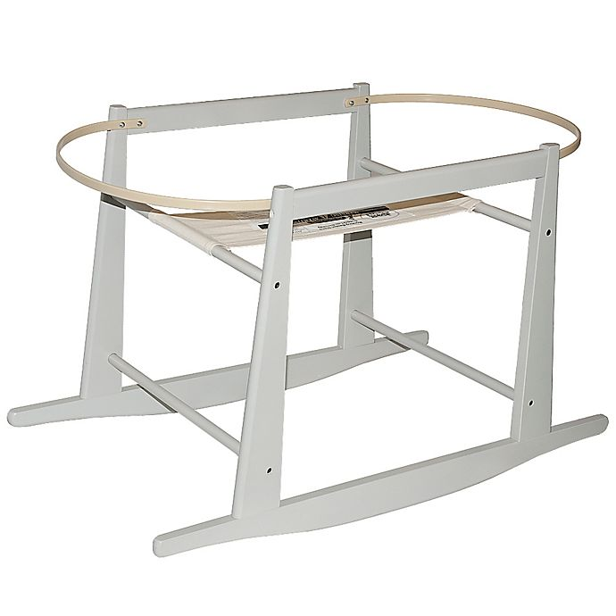 6617edce8c7 Jolly Jumper® Rocking Moses Basket Stand in Grey   Bed Bath and ...