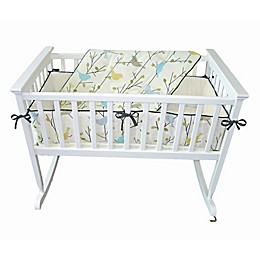 Jolly Jumper® 3-Piece Baby Birdies Cradle Bedding Set