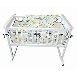 Jolly Jumper® 3-Piece Baby Birdies Cradle Bedding Set