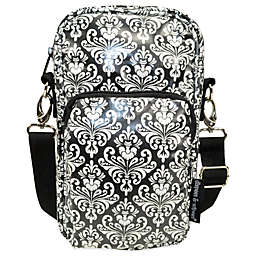 Diapees & Wipees® Laminated Hipster Bag in Chic Damask
