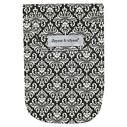 Diapees & Wipees® Laminated Storage Bag with Wipes Case in Chic Damask