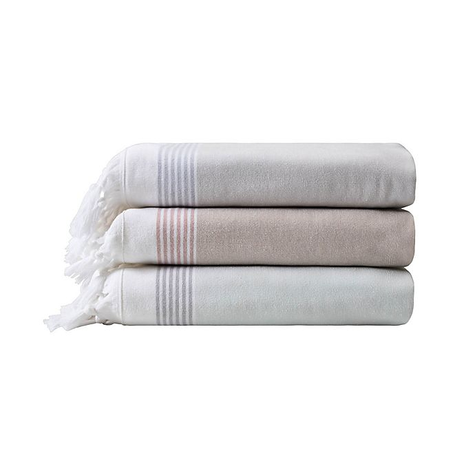 Alternate image 1 for Haven™ Organic Cotton Flatweave Bath Towel Collection