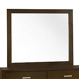Modus Furniture Riva 42-Inch x 50-Inch Rectangular Wall Mirror in Chocolate