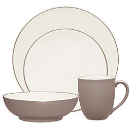 Noritake® Colorwave Coupe 4-Piece Place Setting in Clay