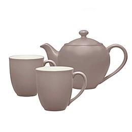 Noritake® Colorwave 3-Piece Tea-for-2 Set in Clay
