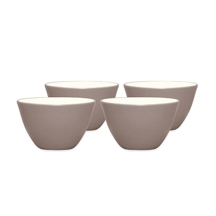 Alternate image 1 for Noritake® Colorwave Mini Bowls in Clay (Set of 4)