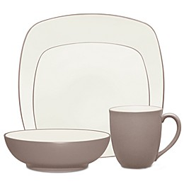 Noritake® Colorwave Square Dinnerware Collection in Clay