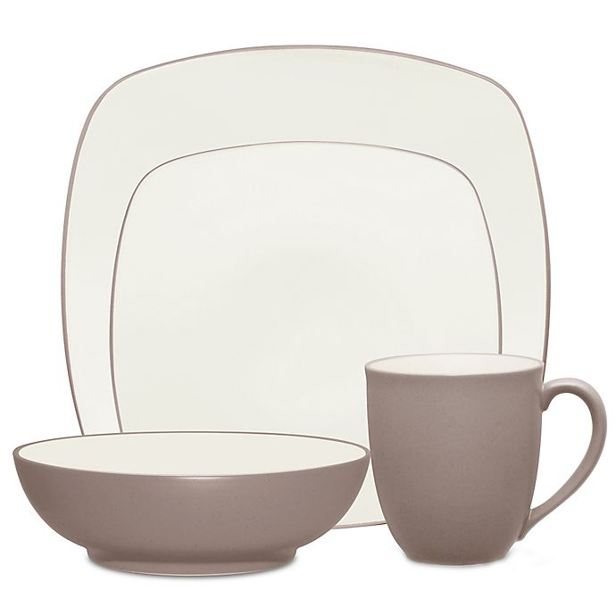 Alternate image 1 for Noritake® Colorwave Square Dinnerware Collection in Clay