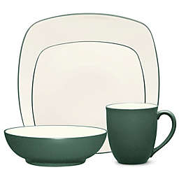 Noritake® Colorwave Square 4-Piece Place Setting in Spruce