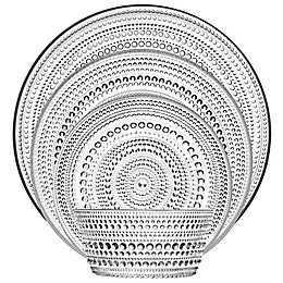 Iittala Kastehelmi Dinnerware Collection in Clear