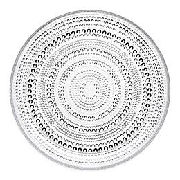 Iittala Kastehelmi Dinner Plate in Clear