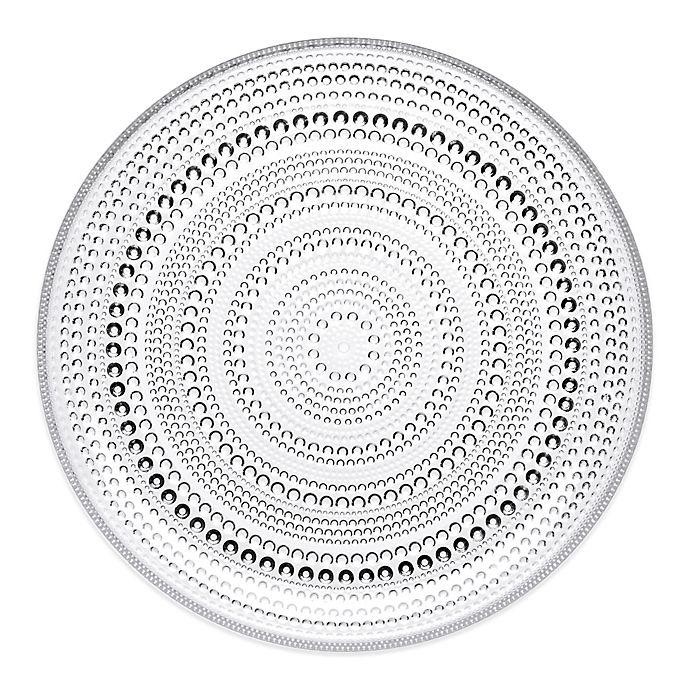 Alternate image 1 for Iittala Kastehelmi Dinner Plate in Clear