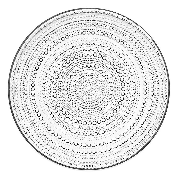 Alternate image 1 for Iittala Kastehelmi Charger Plate in Clear