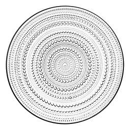 Iittala Kastehelmi Charger Plate in Clear