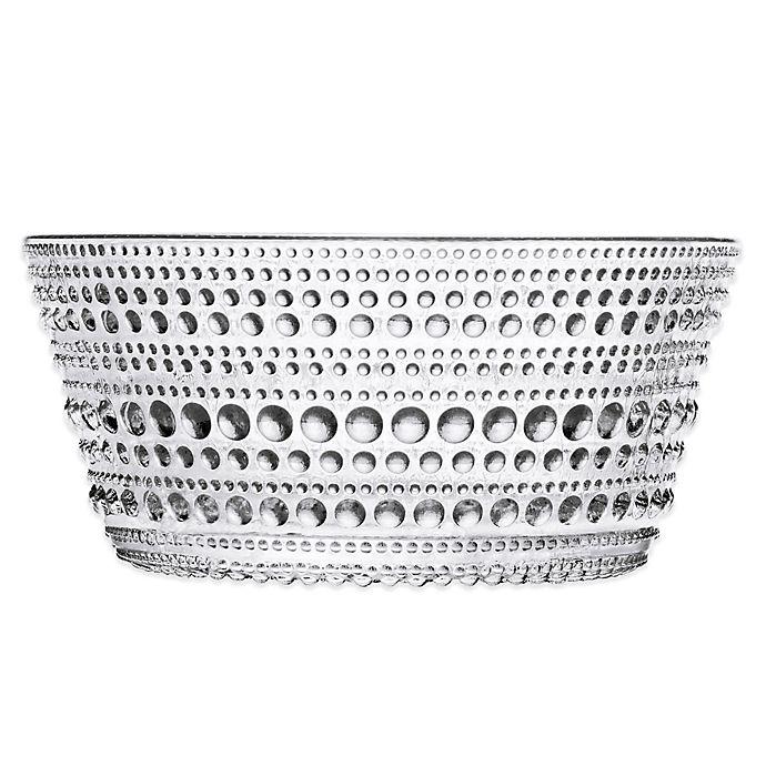 Alternate image 1 for Iittala Kastehelmi Bowl in Clear