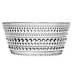 Iittala Kastehelmi Bowl in Clear