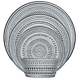 Iittala Kastehelmi Dinnerware Collection in Grey