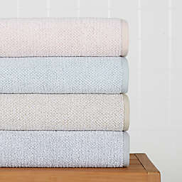 Haven™ Heathered Pebble Bath Towel Collection