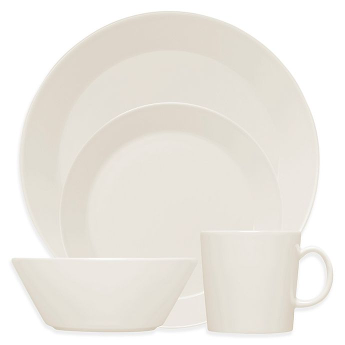 Alternate image 1 for Iittala Teema Dinnerware Collection in White