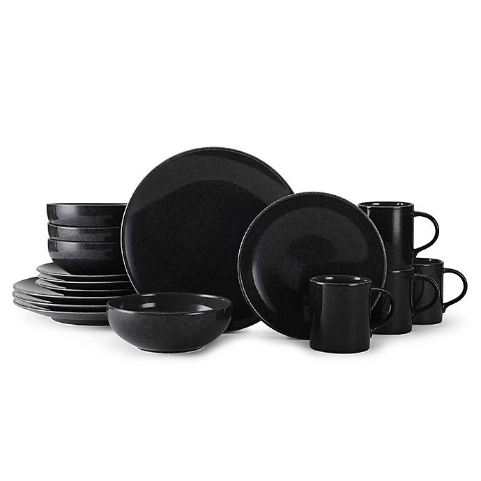 Alternate image 1 for Mikasa® Benson 16-Piece Dinnerware Set in Slate