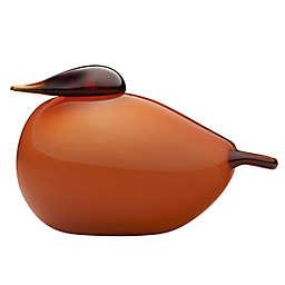 Iittala Toikka Birds Kuulas in Orange