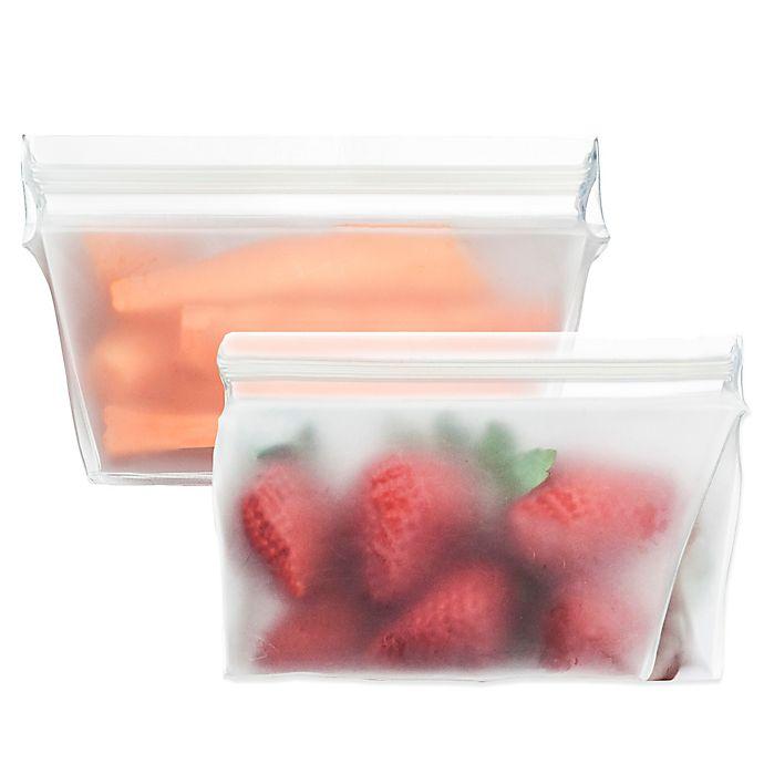 Alternate image 1 for BlueAvocado® (re)zip™ Reusable Food Storage Bag