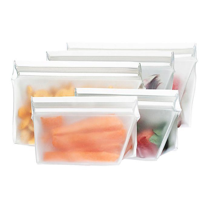 Alternate image 1 for BlueAvocado® (re)zip™ Reusable Food Storage Bags (Set of 5)