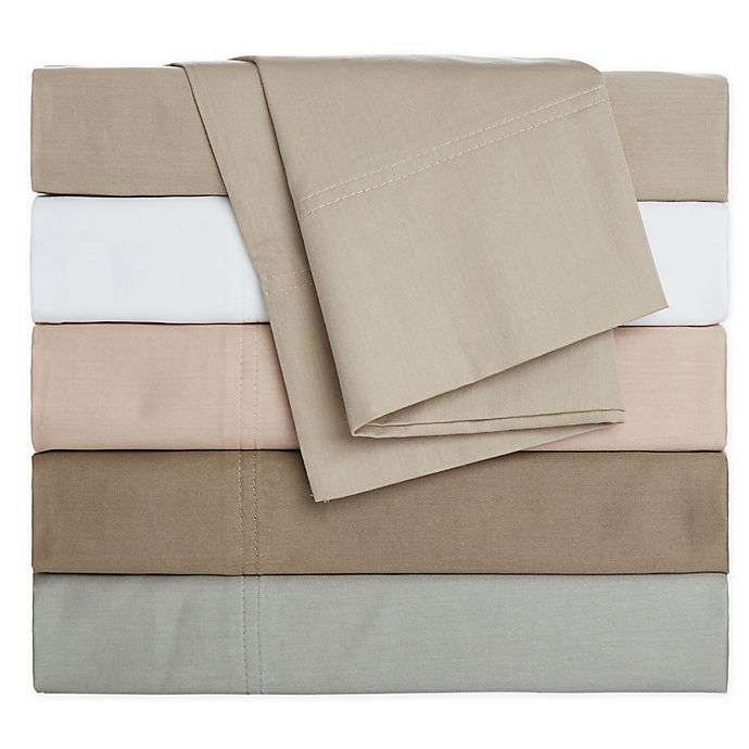 Alternate image 1 for Nestwell™ Pure Earth Organic Cotton 300-Thread-Count Sheet