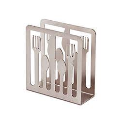 Umbra® Cutlery Napkin Holder in Nickel