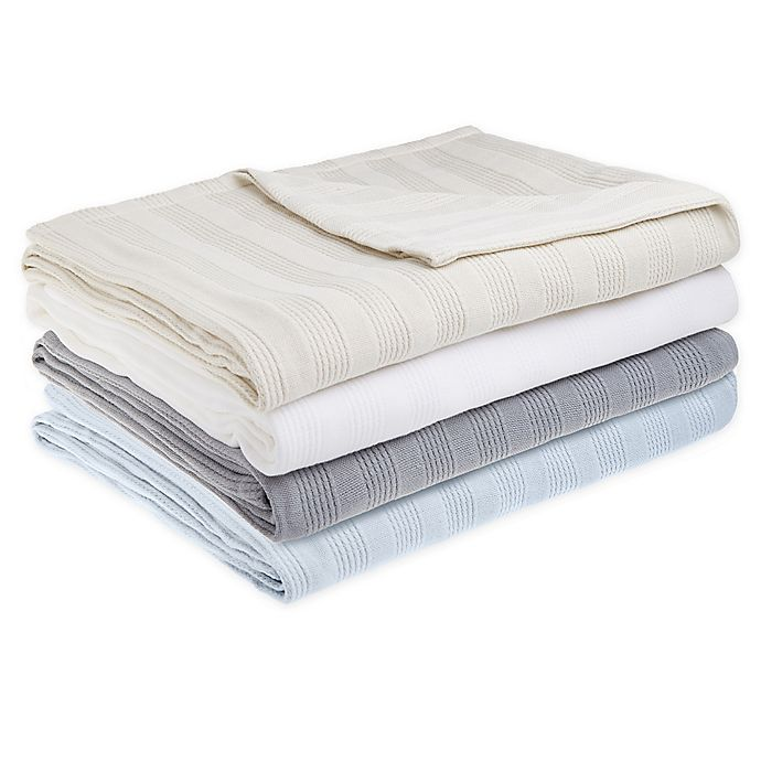 Alternate image 1 for Nestwell™ Cozy Micro Cotton® Blanket