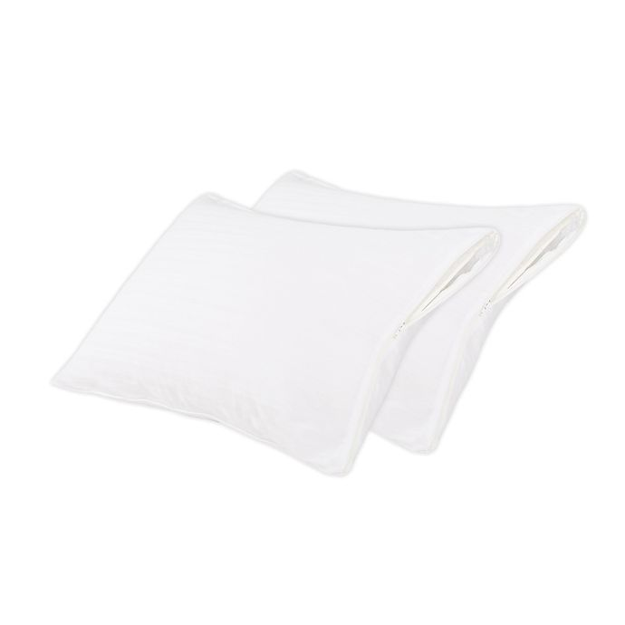 Alternate image 1 for Nestwell™ Cotton Comfort Pillow Protectors (Set of 2)