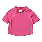 i play.® Size 6M Short Sleeve Rashguard in Hot Pink
