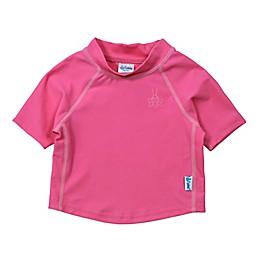 i play.® Short Sleeve Rashguard in Hot Pink