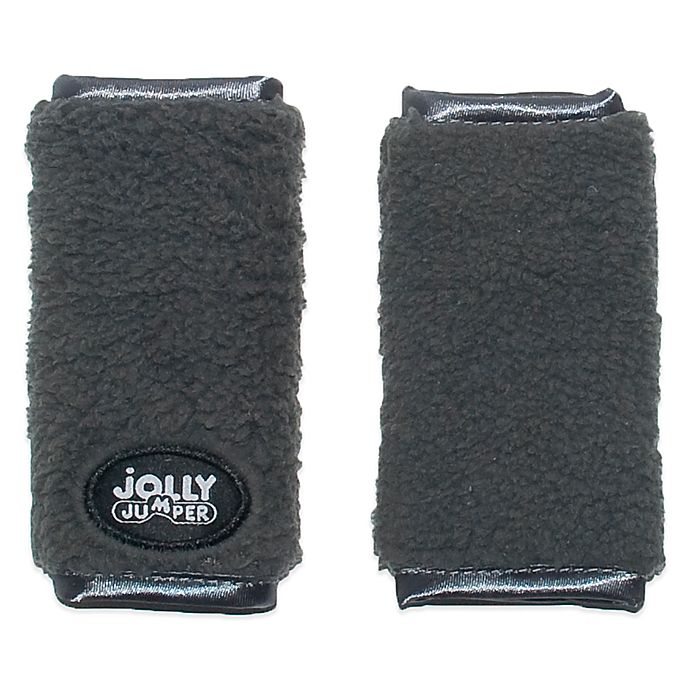 Alternate image 1 for Jolly Jumper Soft Straps for Car Seat & Strollers in Charcoal