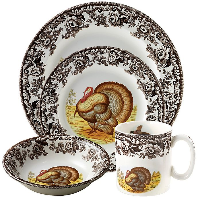 Alternate image 1 for Spode® Woodland Turkey Dinnerware Collection