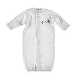 Magnolia Baby™ Worth the Wait Newborn Stork Convertible Gown in White