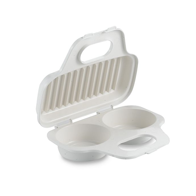 Alternate image 1 for SALT™ Meals in Minutes Microwave Egg Poacher