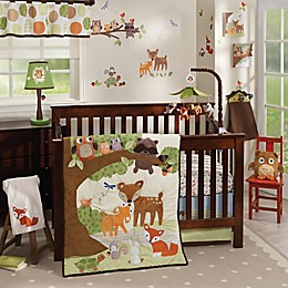 Lambs & Ivy® Woodland Tales Crib Bedding Collection