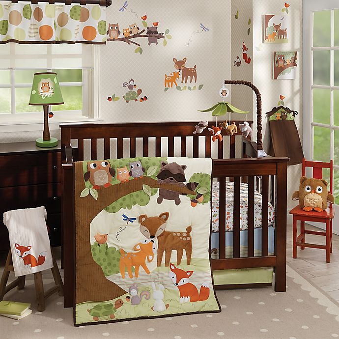 Alternate image 1 for Lambs & Ivy® Woodland Tales Crib Bedding Collection
