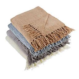 Design Imports Chenille Throw Blanket