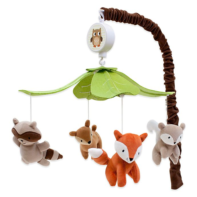 Lambs Ivy Woodland Tales Musical Mobile Buybuy Baby