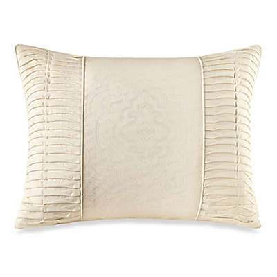 Crowning Touch Cotton Naturals 100% Cotton Jacquard Oblong Throw Pillow