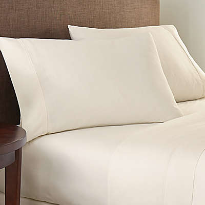Crowning Touch Cotton Naturals 100% Cotton Solid Sheet Set