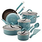 Rachael Ray™  Cucina 12-Piece Hard Enamel Cookware Set in Blue