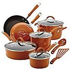Rachael Ray™  Cucina 12-Piece Hard Enamel Cookware Set in Orange