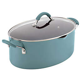 Rachael Ray™ Cucina 8 qt. Hard Enamel Covered Oval Pasta Pot