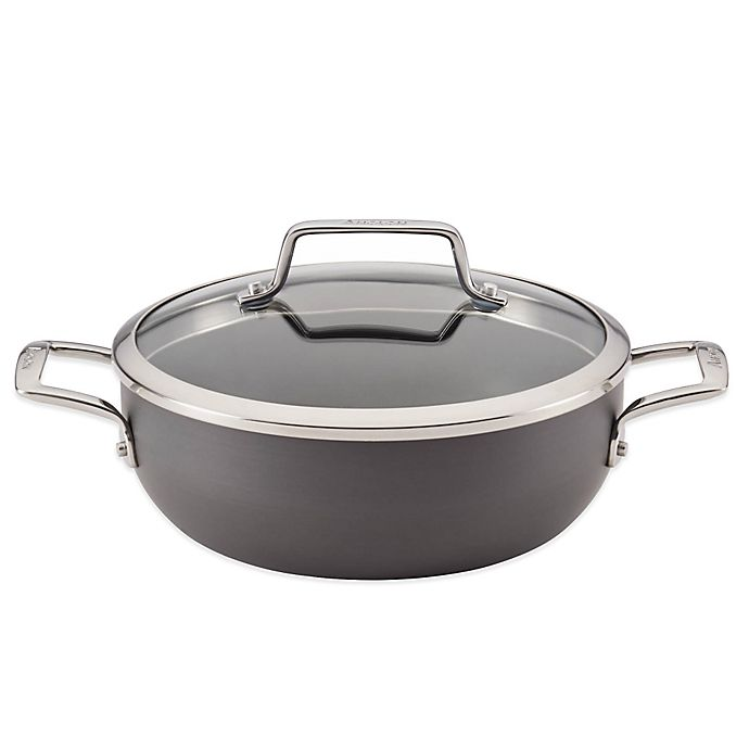 Alternate image 1 for Anolon® Authority 3.5 qt. Hard-Anodized Nonstick Covered Casserole
